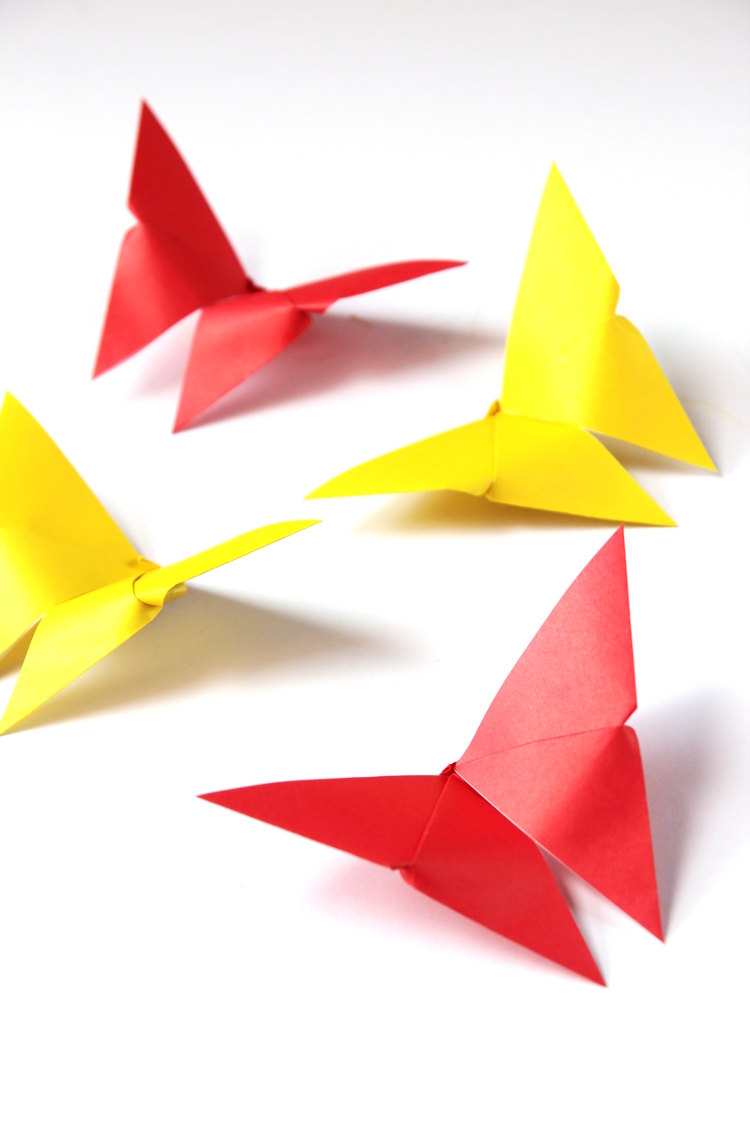 Set Your Heart A Flutter With These Easy Origami Butterflies