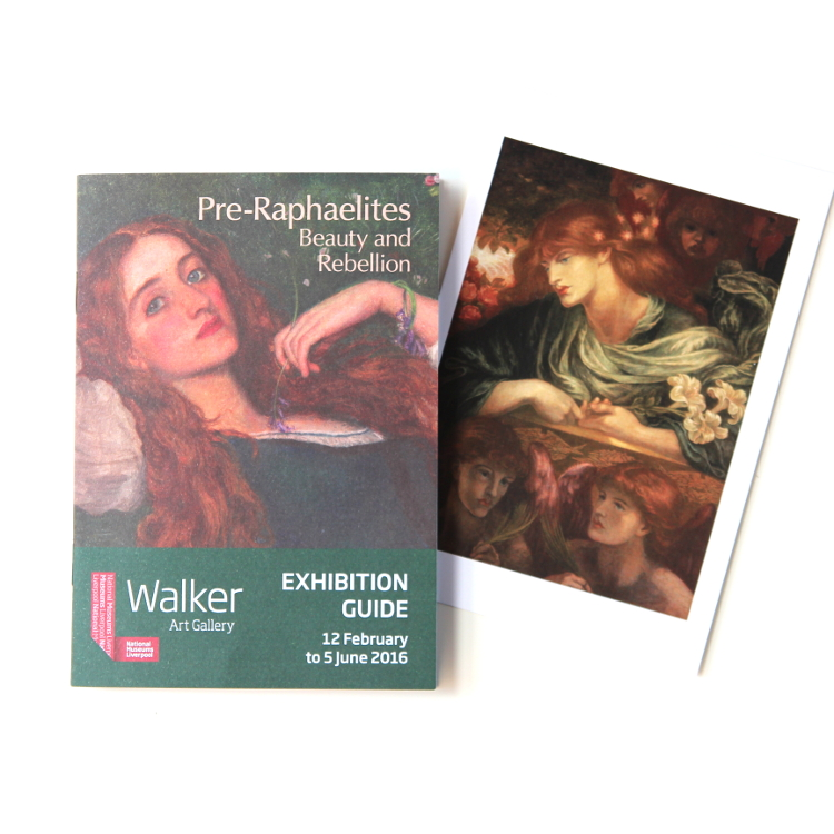 Pre-Raphaelites Exhibition at the Walker Art Gallery in Liverpool