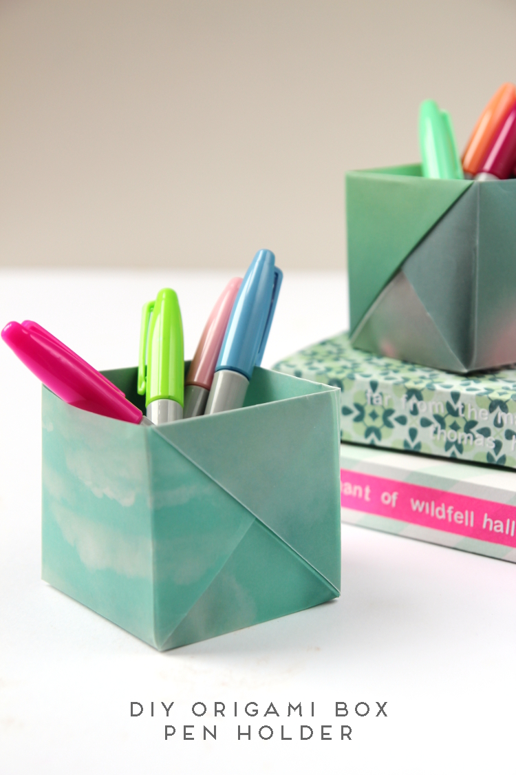 office paper holders. DRESS YOUR DESK IN STYLE WITH THESE ORIGAMI PEN HOLDERS Office Paper Holders L