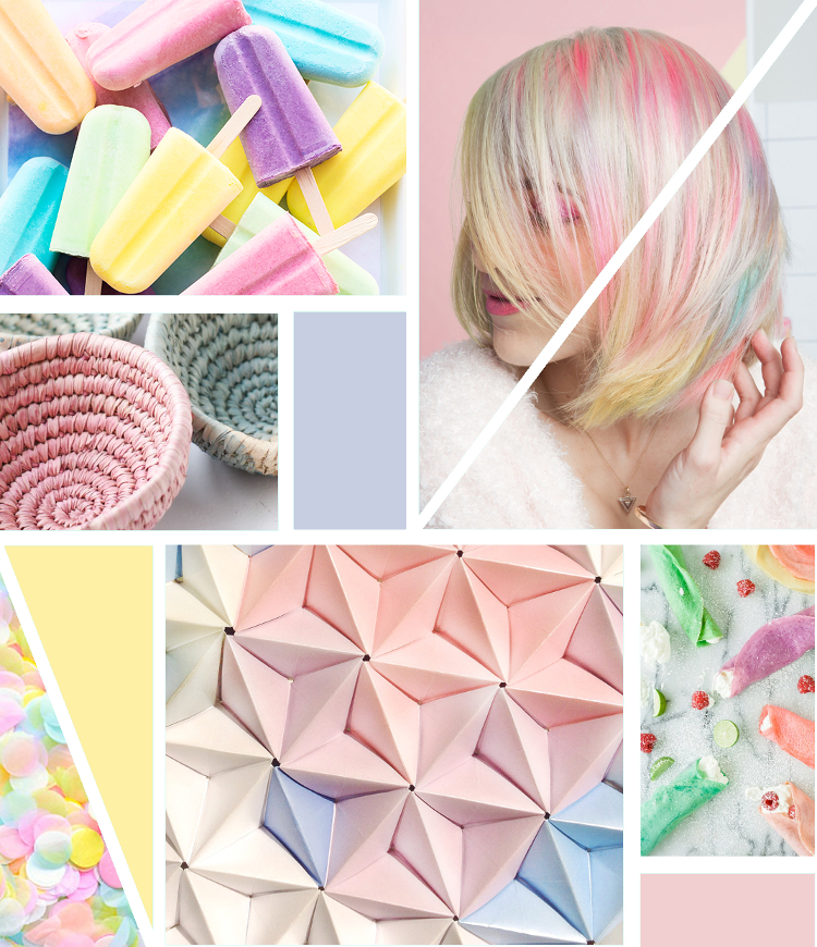 MONDAY MOODBOARD - PRETTY PASTELS.