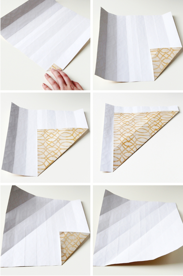 Step By Diy Origami Paper Vases