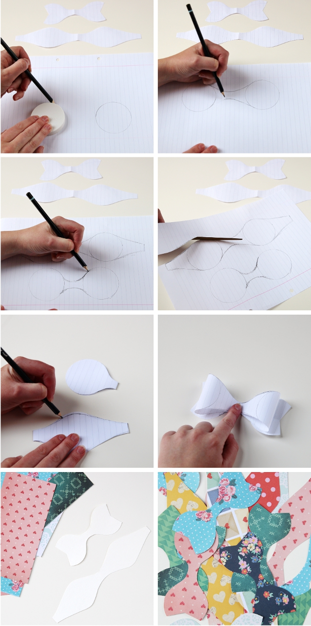 Diy Paper Bows Gathering Beauty
