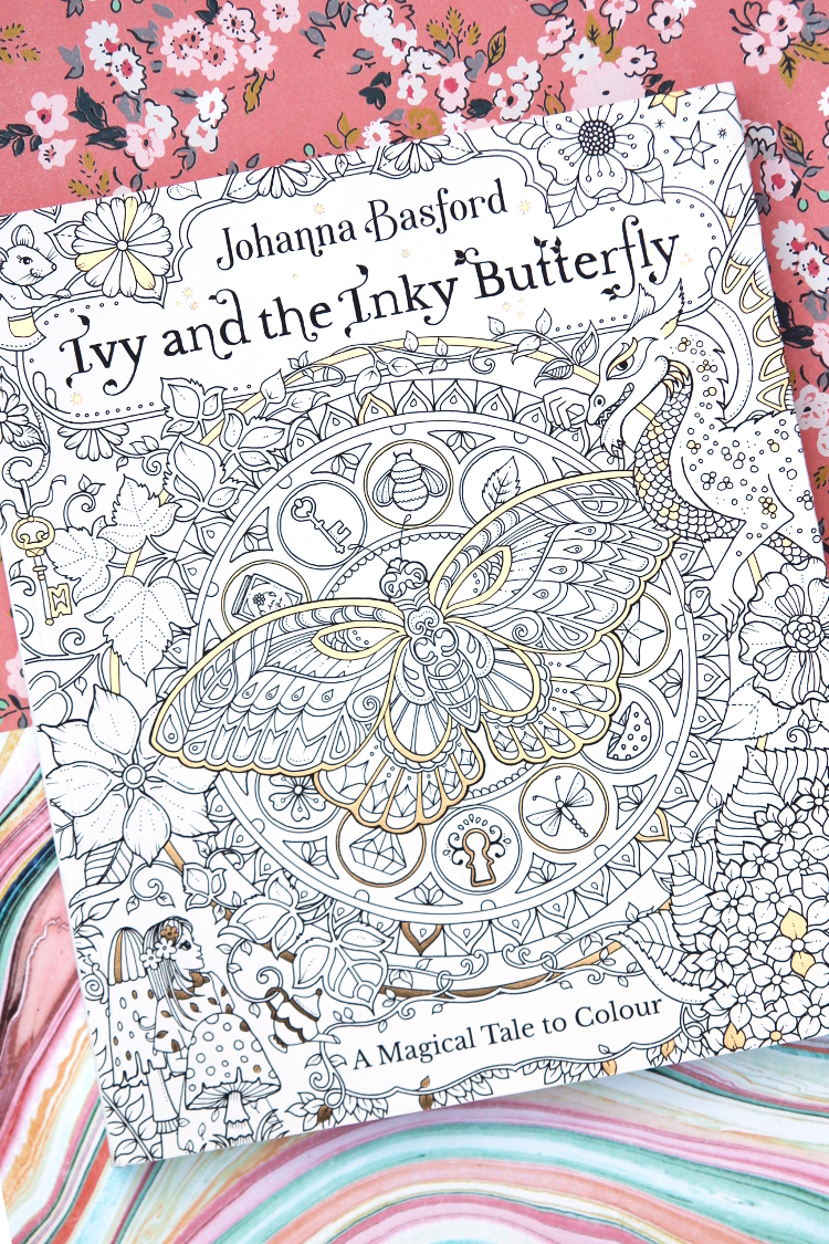 WIN A COPY JOHANNA BASFORDS IVY AND THE INKY BUTTERFLY COLOURING BOOK