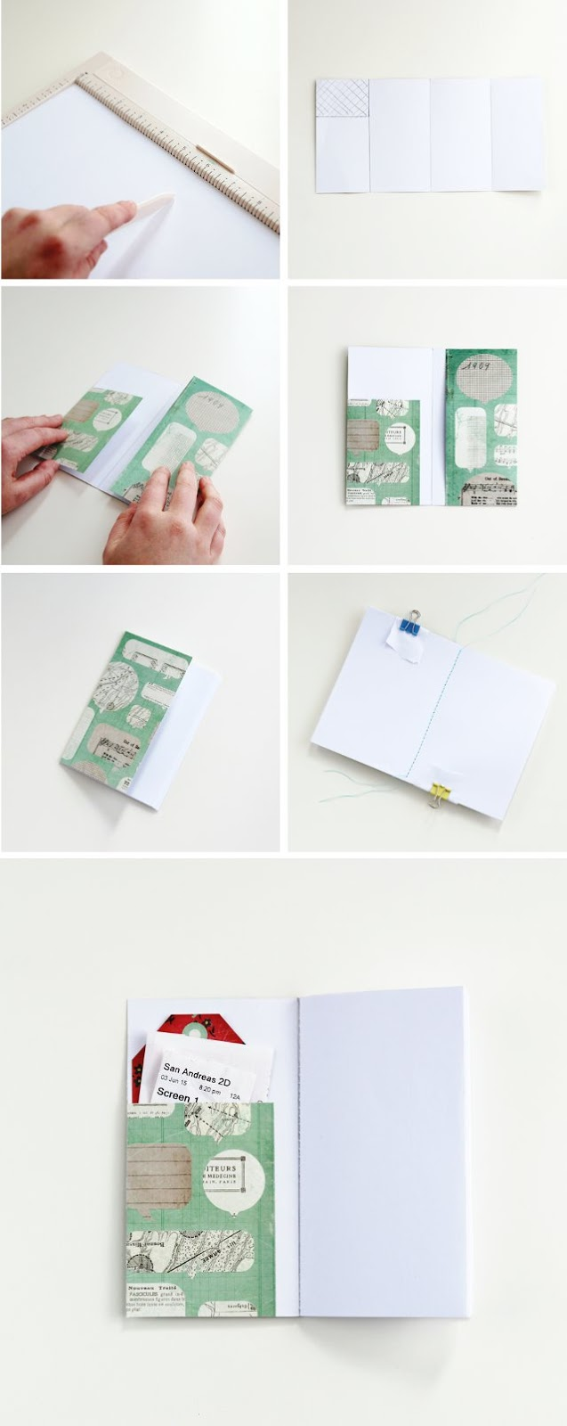 How to make Diy Pocket Notebooks.