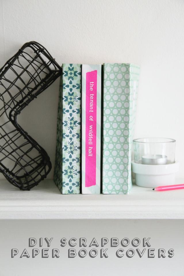 Diy Scrapbook Paper Book Covers Gathering Beauty