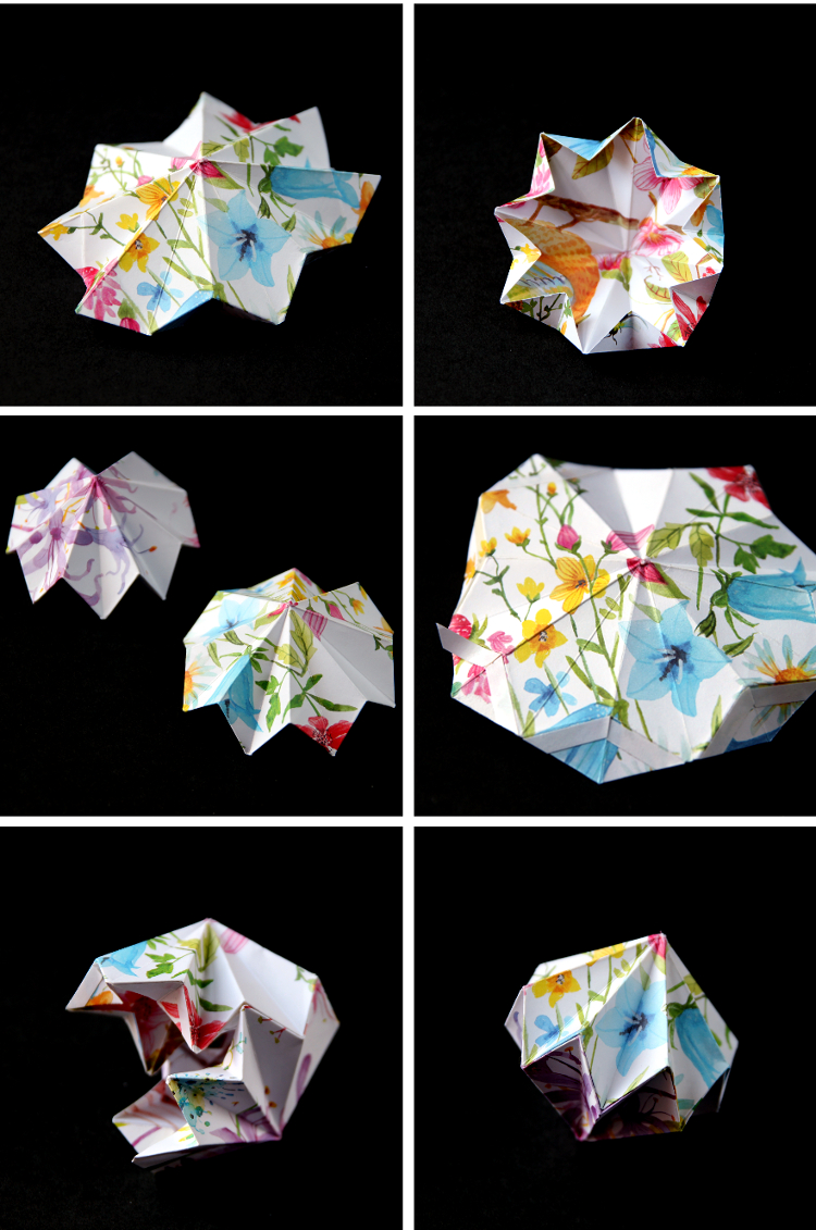 How to Make an Origami Diamond (with Pictures) - wikiHow | 1131x750