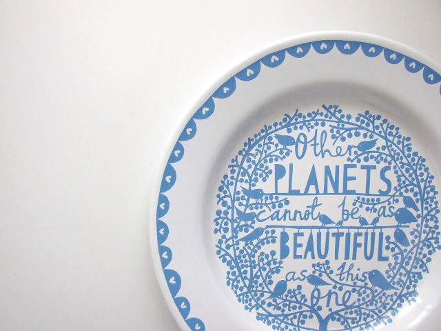Rob Ryan Plate - Gathering Beauty