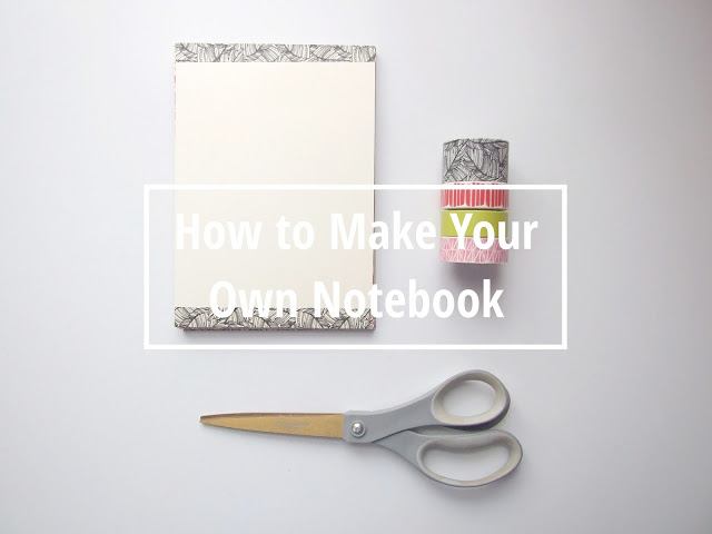 How to Make Your Own Notebook using washi tape and envelopes- Gathering Beauty