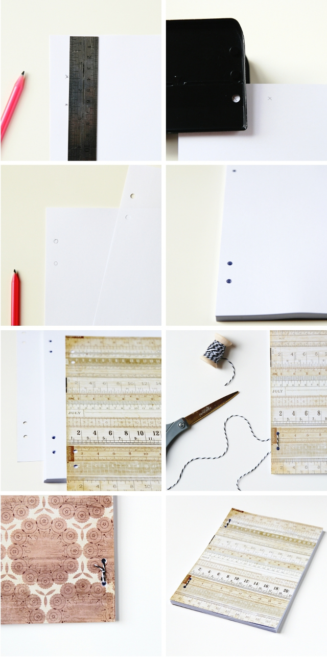 How to make a Simple Diy A4 Softcover Notebook