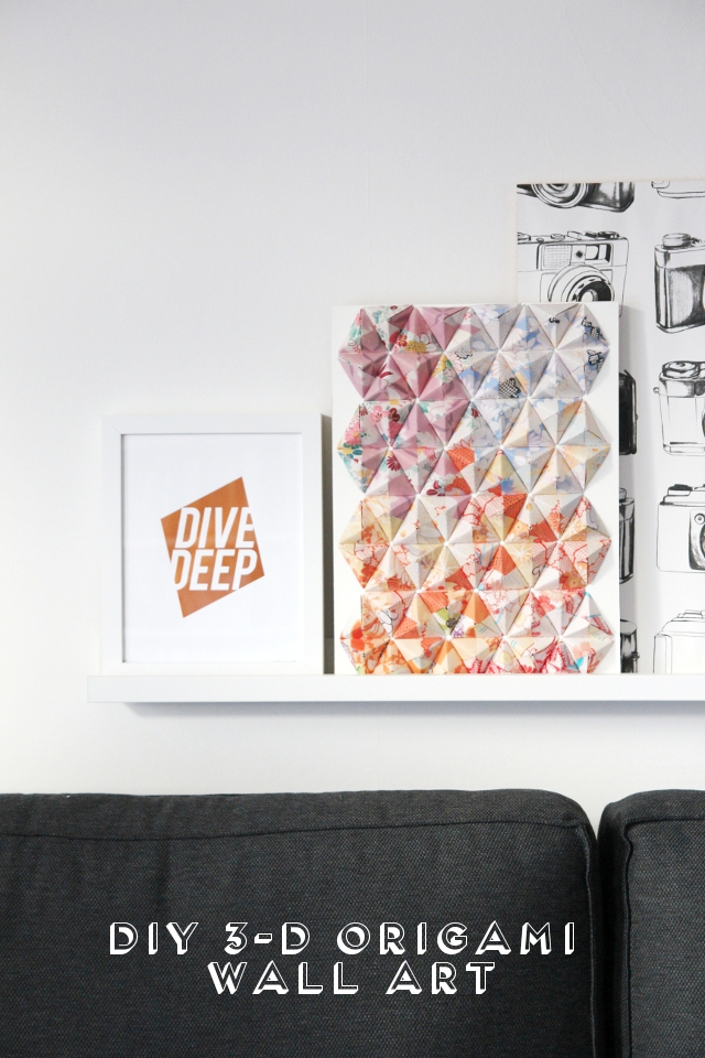 Diy 3 D Origami Wall Art