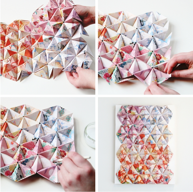 Things I Ve Made From Things I Ve Pinned Diy 3d Origami Wall Art Gathering Beauty