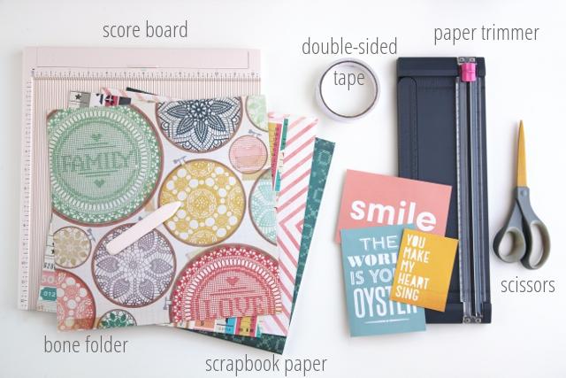 Diy Scrapbook Paper Pocket Envelope Gathering Beauty