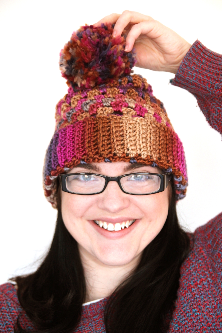 DIY (SORT OF) GRANNY STITCH CROCHET HAT