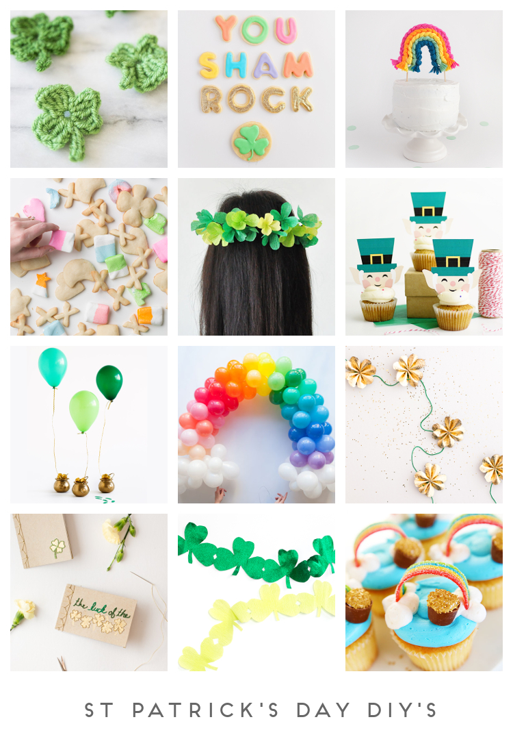 ST PATRICK'S DAY DIY'S.