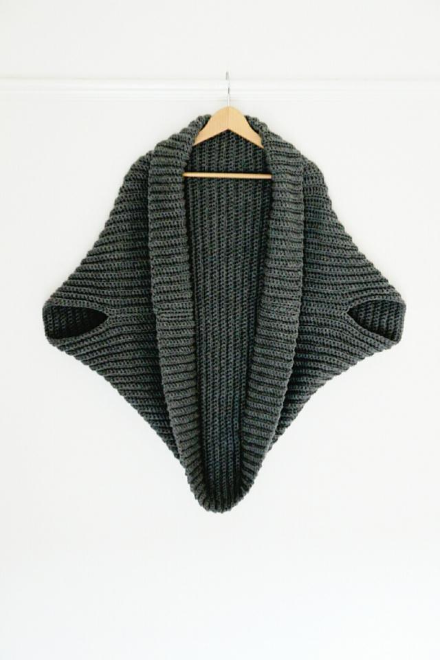 Simple Crochet Cardigan Gathering Beauty