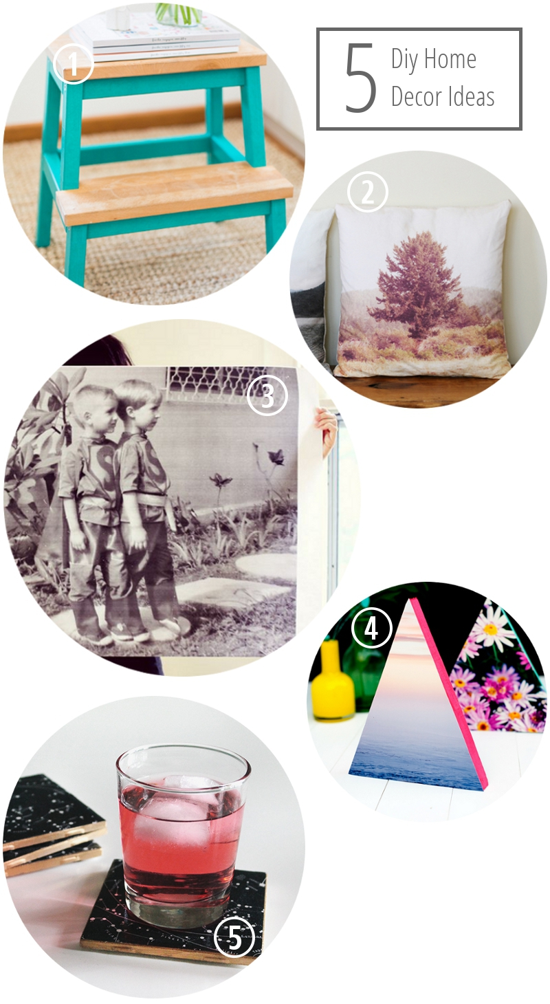 5 of my favourite diy home decor ideas.