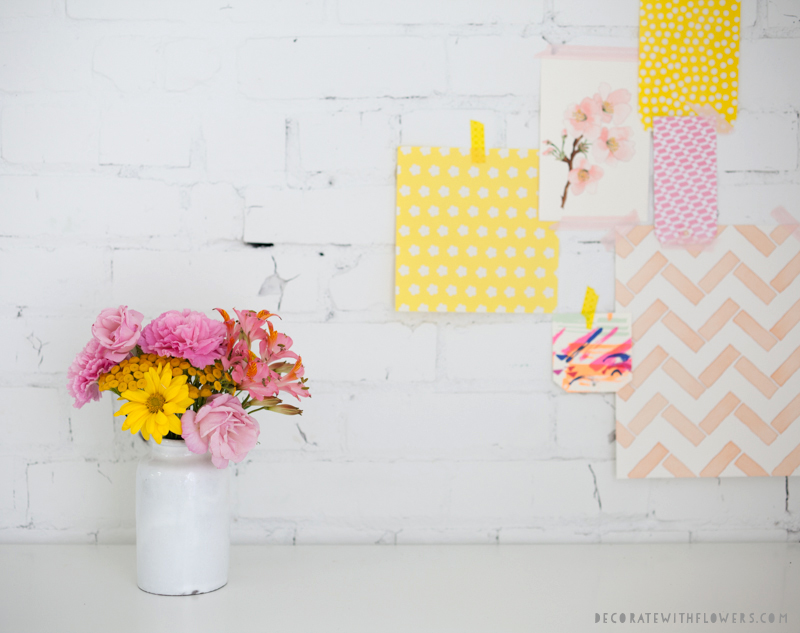 Working with colour from Decorate With Flowers by Holly Becker and Leslie Shewring