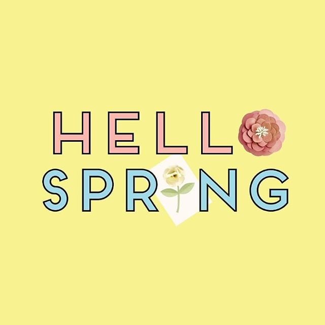 Celebrating the arrival of Spring with a sunshiny yellow desktop wallpaper. Hop on over to the blog to get your free download and cover your laptop or phone with sunshine and flowers 🌞🌻🌼