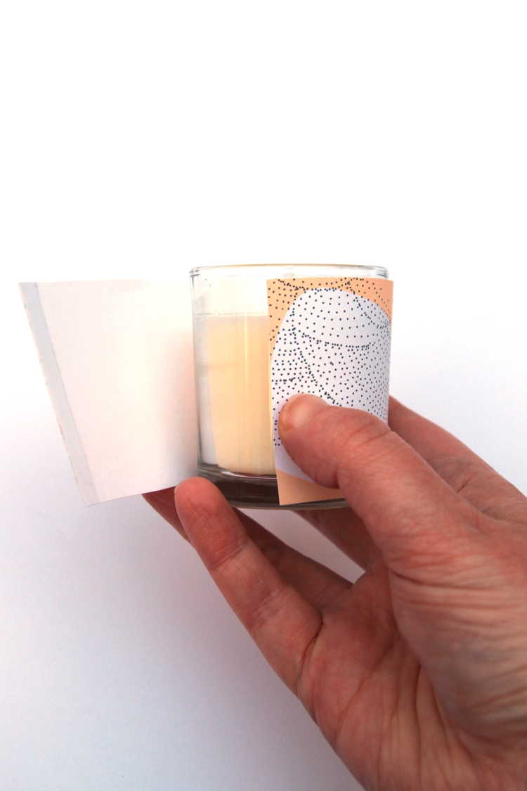 PRINTABLE VOTIVE CANDLE WRAPS