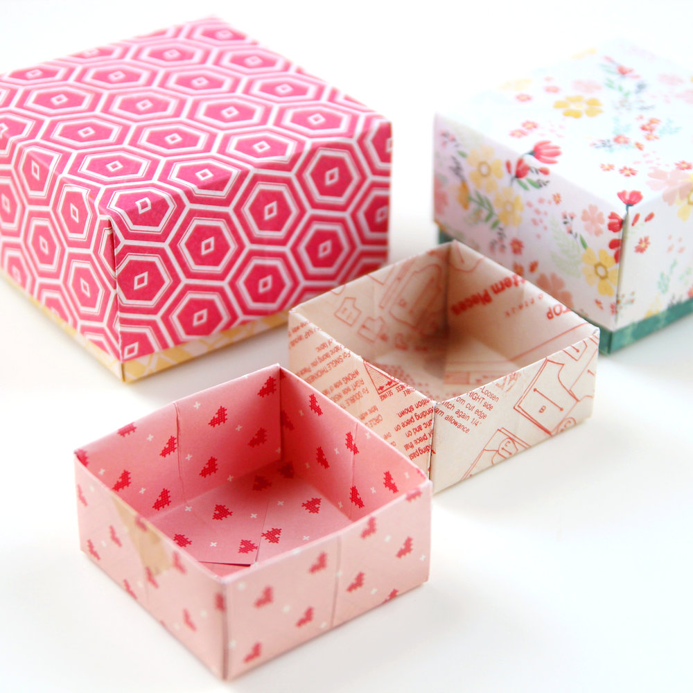 Easy Peasy Diy Origami Gift Boxes Gathering Beauty