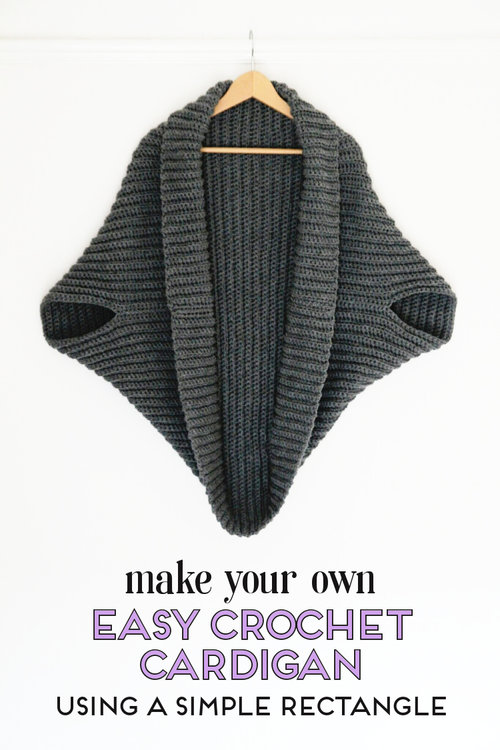 Learn How To Make A Simple Crochet Cardigan Gathering Beauty