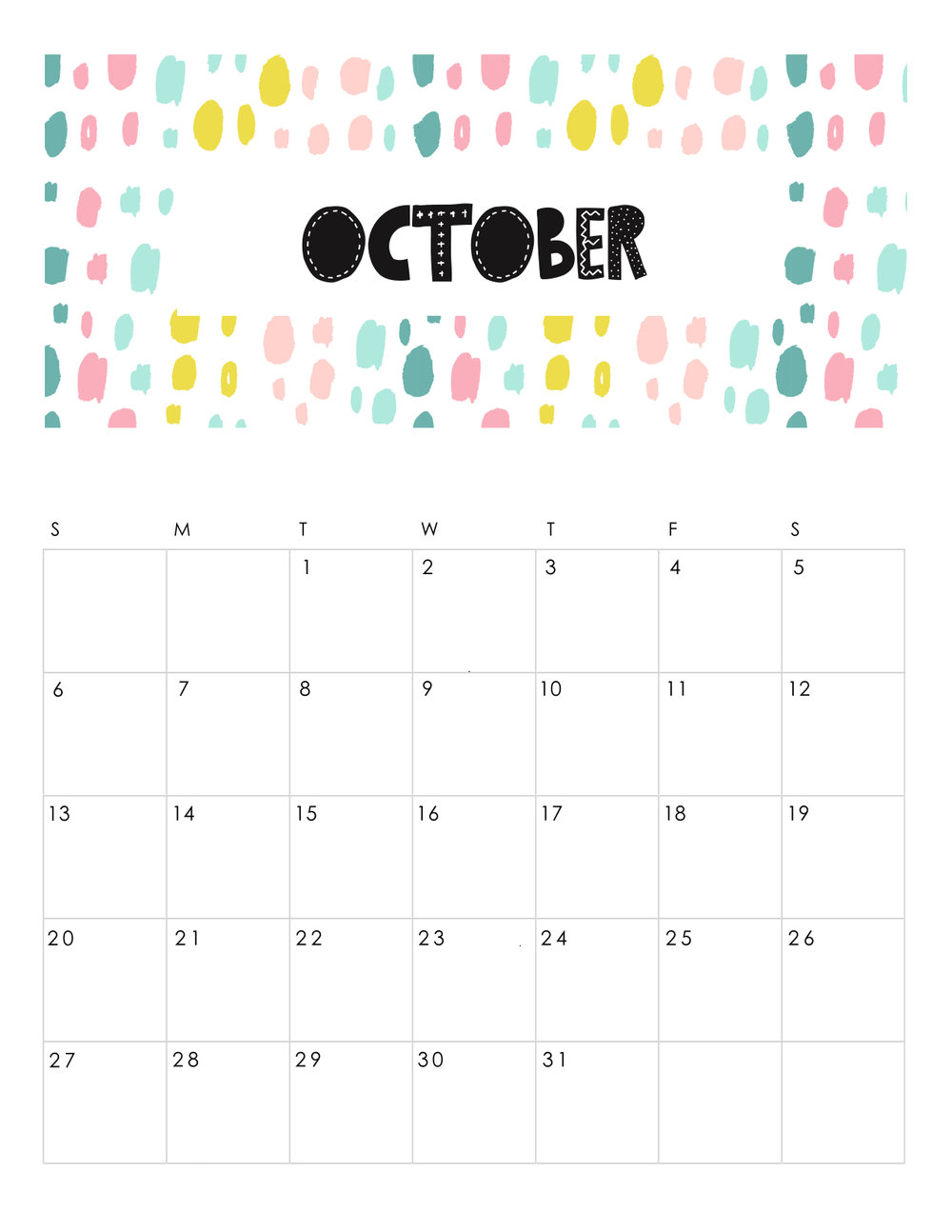 free-printable-abstract-patterned-calendar-2019-OCTOBER.JPG