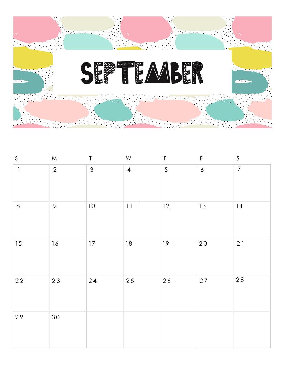 free-printable-abstract-patterned-calendar-2019-SEPTEMBER.JPG