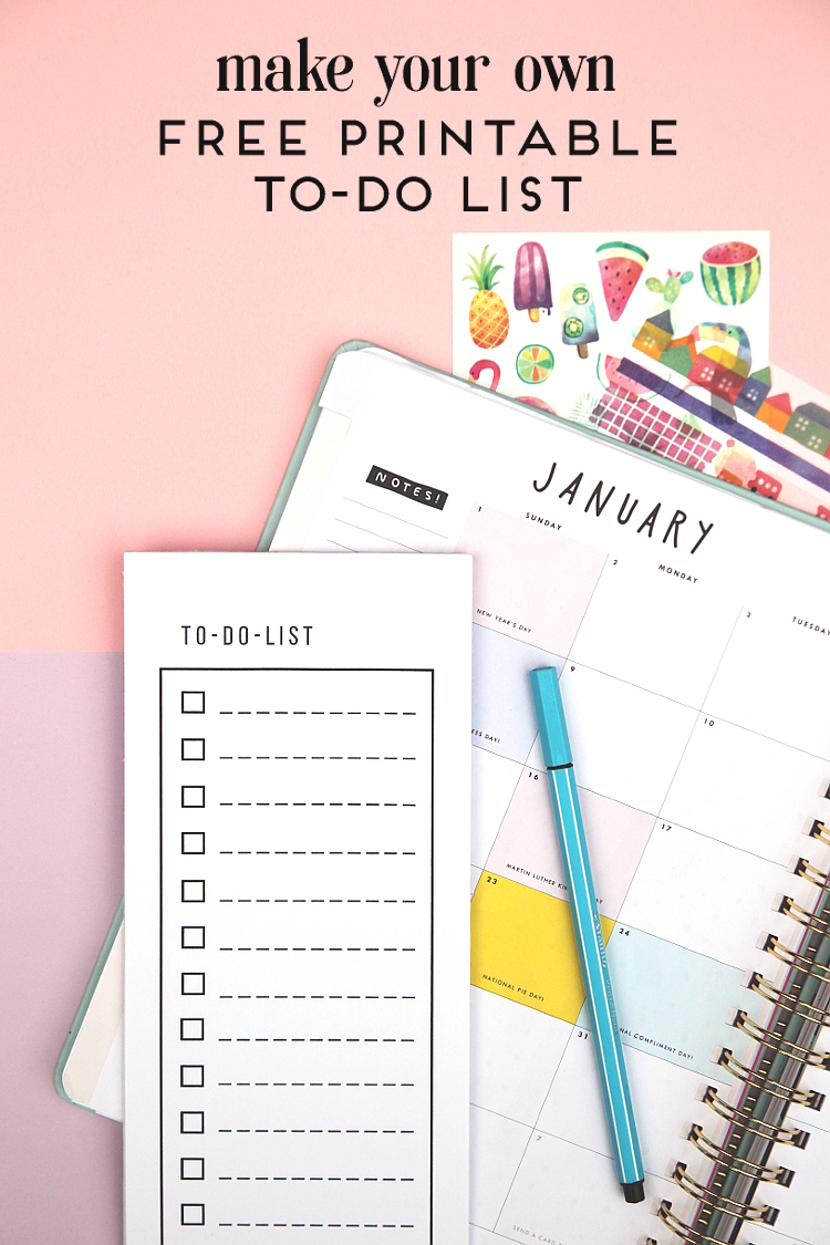 free printable to do list notepad gathering beauty