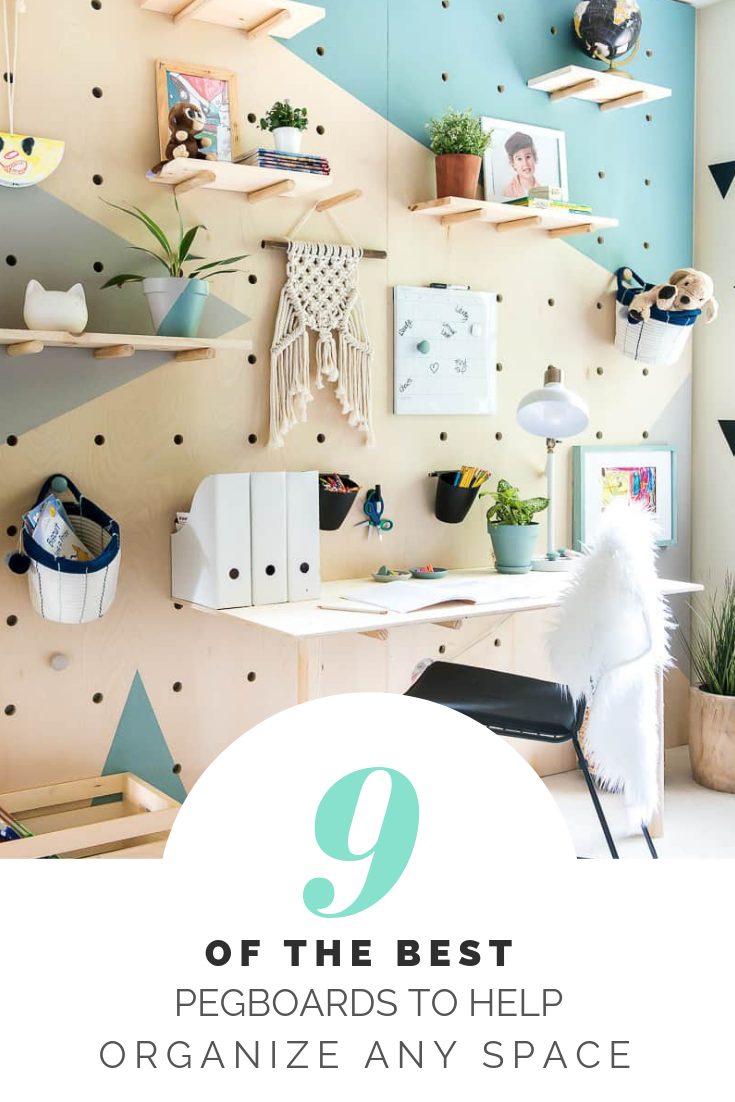9 OF THE BEST PEGBOARDS TO HELP ORGANISE ANY ROOM #diy #organization #homedecor #homediy #storage #pegboard #workspace #gatheringbeauty