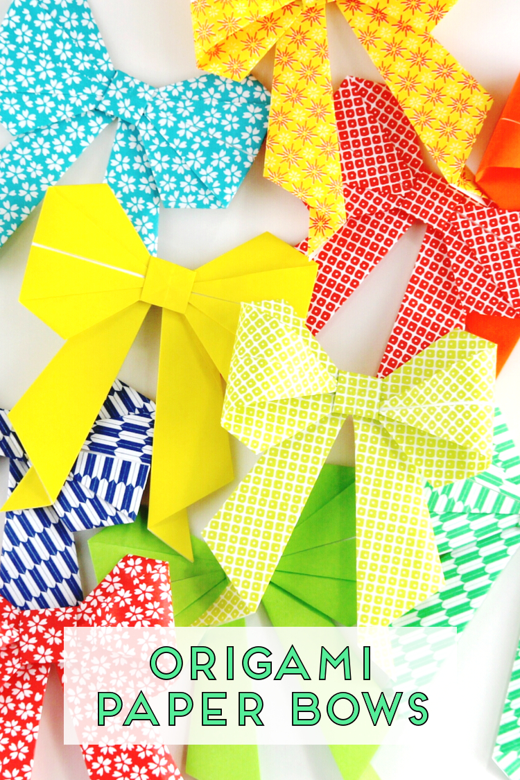 image relating to Printable Origami Papers titled HOW In the direction of Produce AN ORIGAMI PAPER BOW. Amassing Elegance