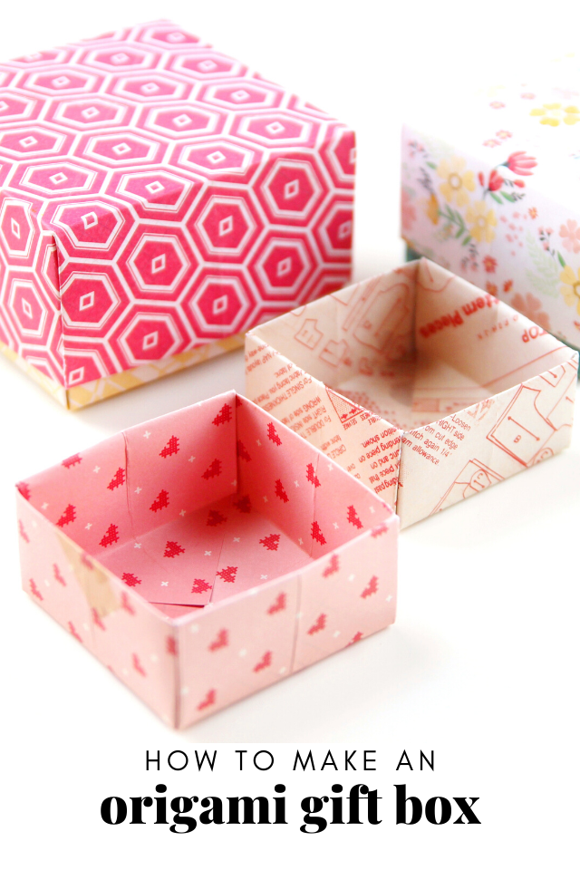 Diagrams for Cherry Blossom modular origami box -- BASE -- design ... | 960x640