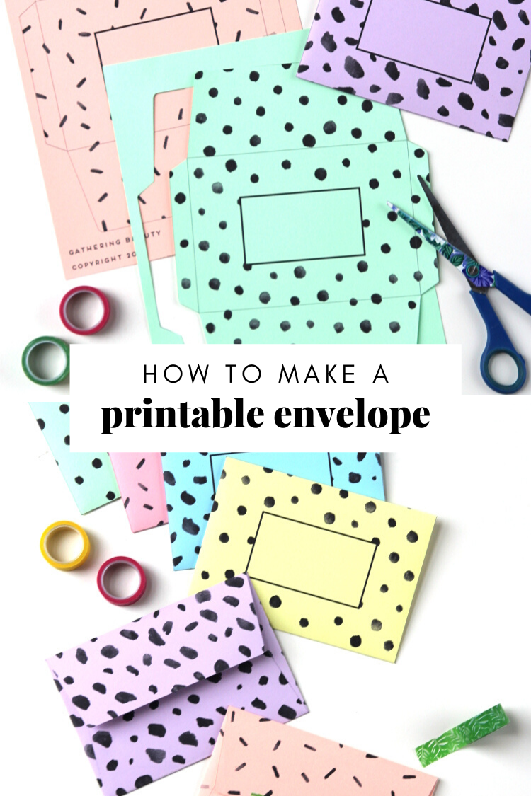 How to Make Your Own Origami Envelope from Paper   1125x750