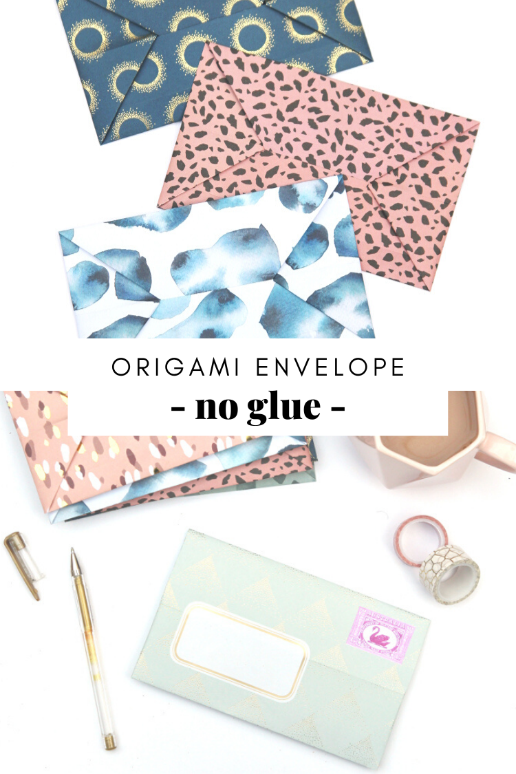 How To Fold An Easy Origami Envelope Gathering Beauty