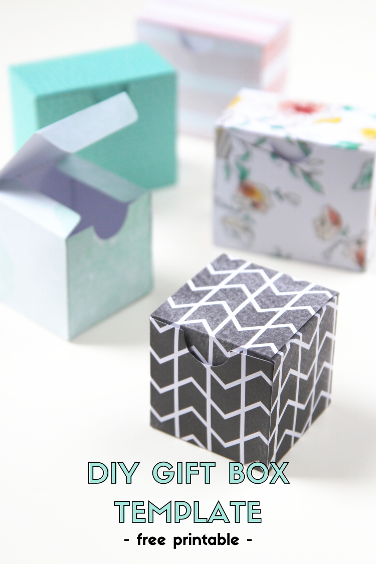 photo relating to Printable Box Template titled PRINTABLE Do it yourself Reward Packing containers. Amassing Elegance