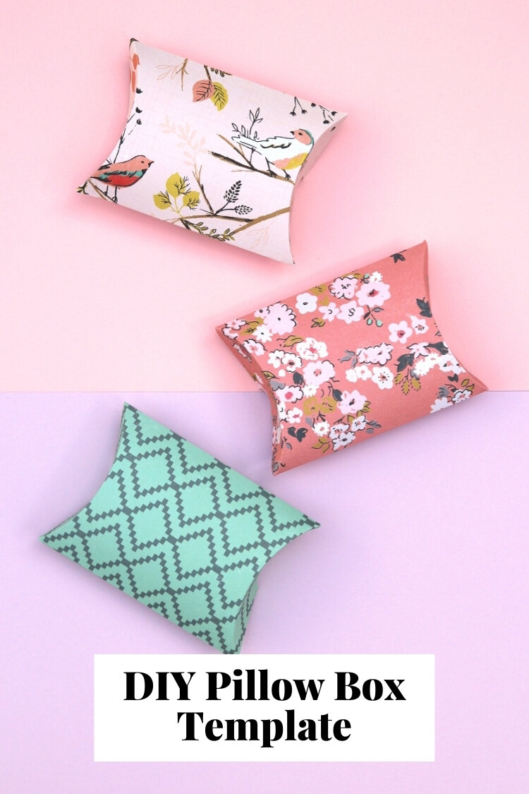 free printable pillow boxes. — gathering beauty