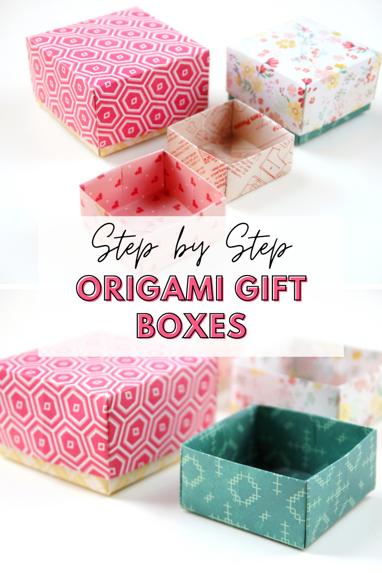 Easy Peasy Diy Origami Gift Boxes Gathering Beauty Box Papercrafts Paper Scrapbook Giftbox