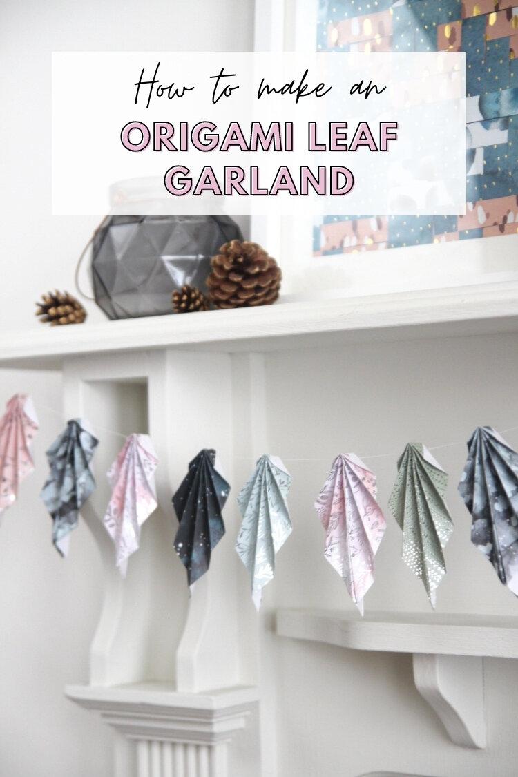 Origami leaf Japanese paper earrings. | Etsy | 1125x750