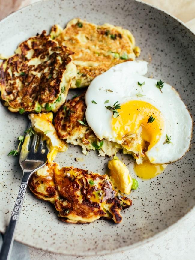 http://www.topwithcinnamon.com/2017/02/potato-pea-leek-pancakes.html