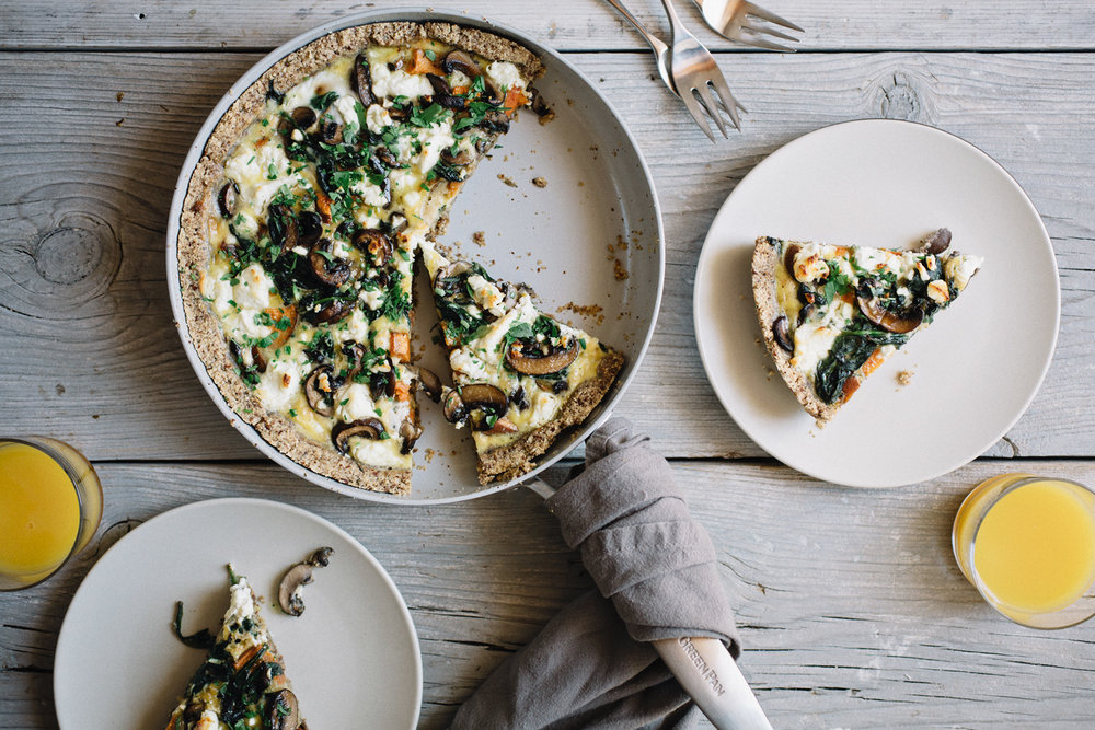 http://www.sproutedkitchen.com/home/2017/5/24/almond-meal-quiche-with-sweet-potatoes-mushrooms-greens