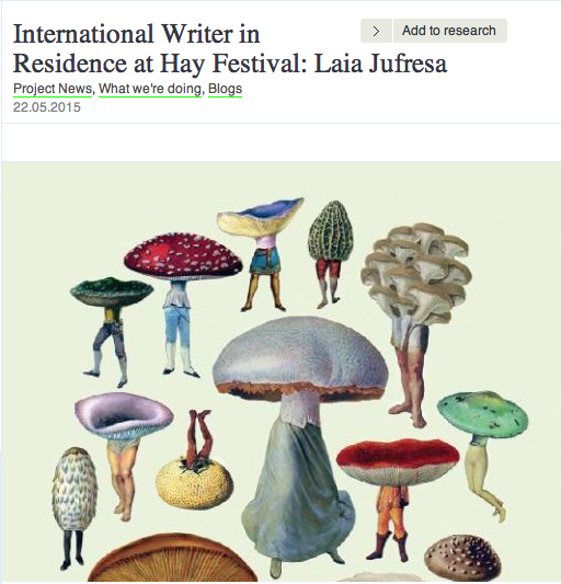 Here's a very nice presentation the British Council Literature published about my work:
