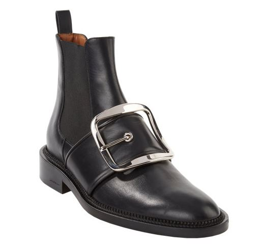 Givenchy, Tina Buckle Strap Bootie