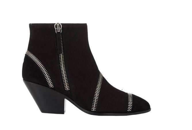 Giuseppe Zanotti Multi Zipper Ankle Boot