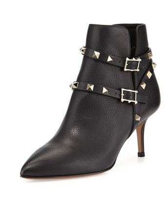 Valentino Rock Star Stud Ankle Boot