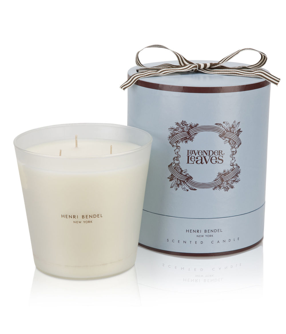 Henri Bendel luxe lavender candle