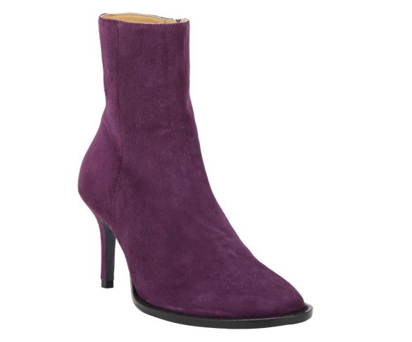 Ann Demeulemeester side zip ankle boot
