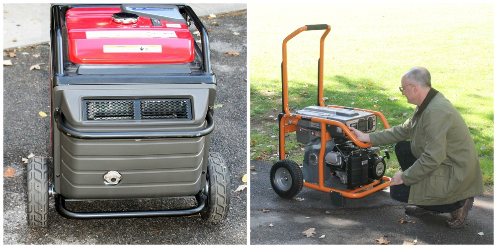 Consumer Reports compares 2 generators side by side
