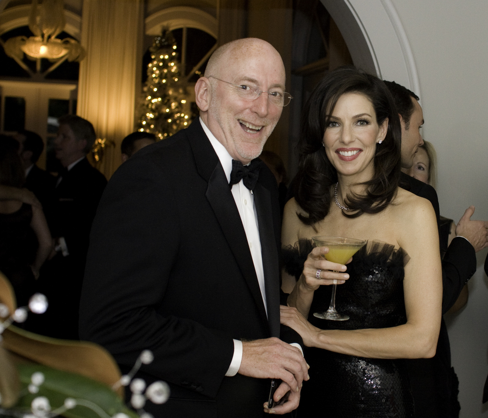 Carla McDonald with Michael Barnes, Social Columnist