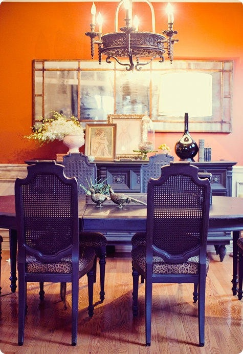 Stylish Notes on Decor :: Orange Crush via Lockerz