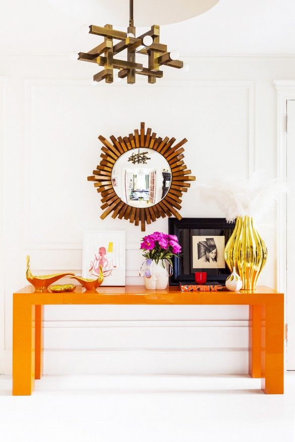 Stylish Notes on Decor :: Orange Crush via Domaine