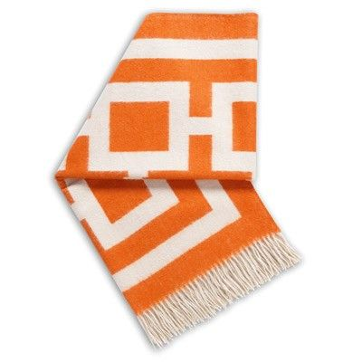 Stylish Notes on Decor :: Orange Crush Blanket, Layla Grace